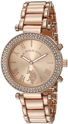 U.S. Polo Assn. Women's Quartz -Toned Dress Watch (Model: USC40170)