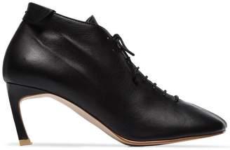 Reike Nen black 70 lace up ankle boots