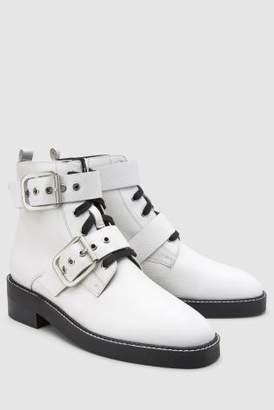 Next Womens Black Signature Comfort Buckle Boots