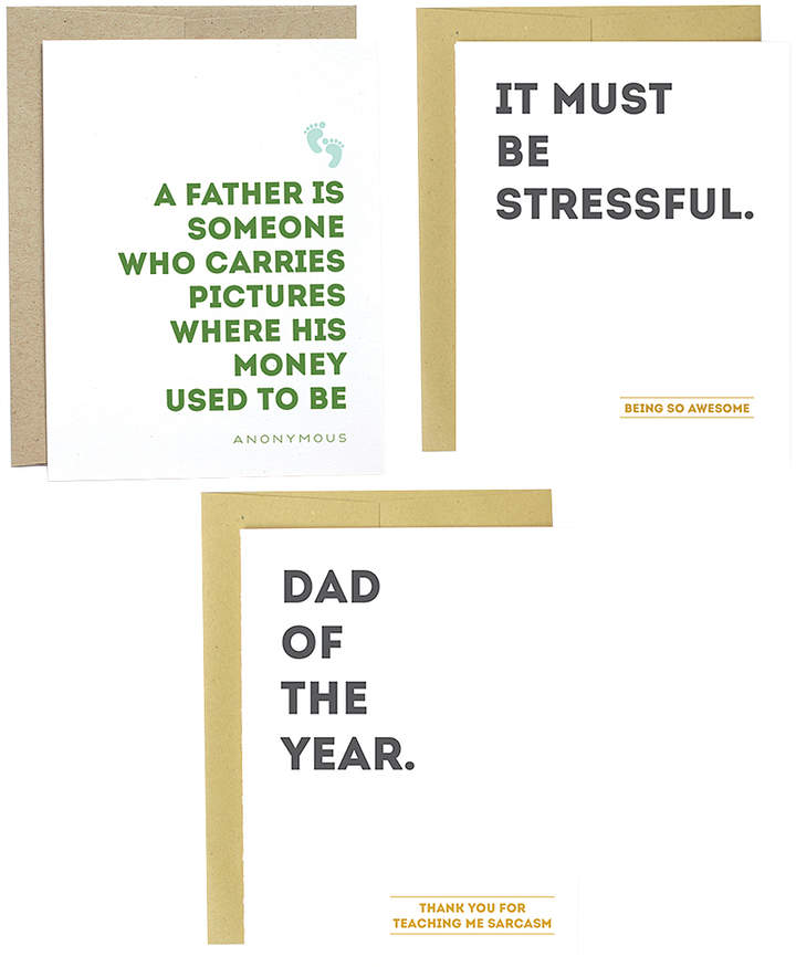 Father Greeting Card Set