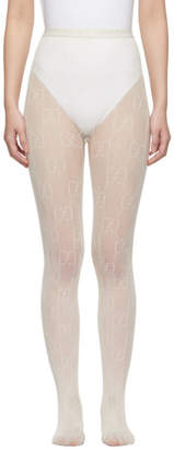 Gucci Off-White GG Supreme Tights
