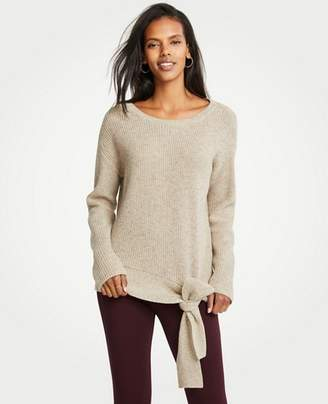 Tie Waist Sweater Shopstyle