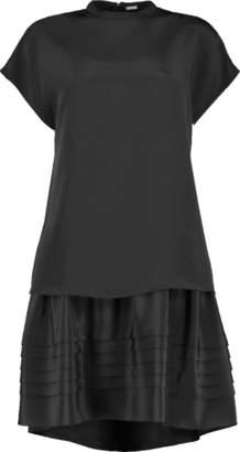ADAM by Adam Lippes Double Layer Mini Dress