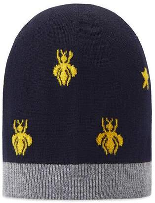 Gucci Children's wool bees and stars hat