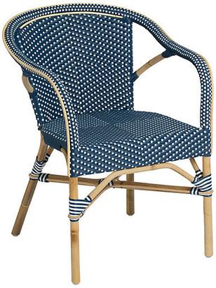 Madeleine Bistro Armchair - Navy - Sika Design