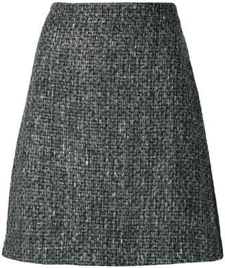 Blumarine A-line tweed skirt