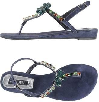 Cuplé Toe strap sandals - Item 11434150