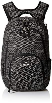 Volcom Top Notch Poly Bkpk, Women's Backpack, Schwarz (Black Combo), 20x30x46 cm (B x H T)