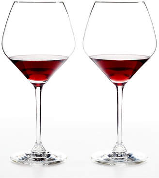 Riedel Set of 2 Heart to Heart Pinot Noir Glasses