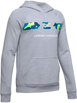 Under Armour Boy's Logo Cotton Blend Hoodie