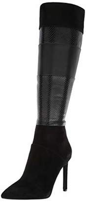 Nine West Women's TOPRANK Suede Knee High Boot