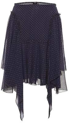 See by Chloe Dotted chiffon skirt