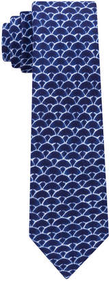Tommy Hilfiger Men's Indigo Shells Slim Tie