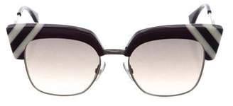 Fendi Cat-Eye Gradient Sunglasses w/ Tags