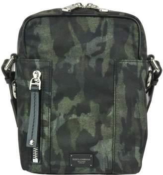 Dolce & Gabbana Camouflage Crossbody Bag