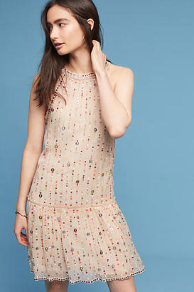 Love Sam Beaded & Sequined Halter Dress $348 thestylecure.com