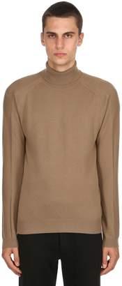 Premium Cashmere Turtleneck Sweater