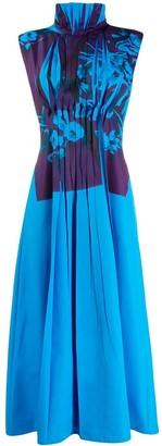 Roksanda pleated front dress