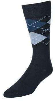 BOSS Mens Argyle Dress Socks