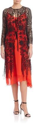 Elie Tahari Women's Ingrid Floral Lace Shawl