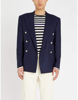 Ralph Lauren Purple Label Slim-fit double-breasted cashmere jacket
