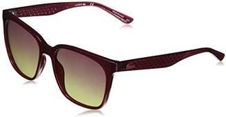 Lacoste Women's L861s Petite Pique Square Sunglasses