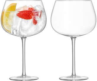 LSA International Bar Cocktail Balloon Glass - Set of 2