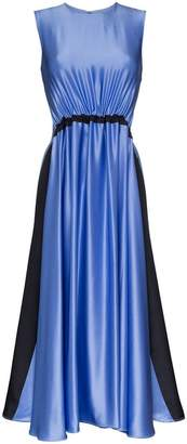 Roksanda Keeva Silk-Satin Midi Dress