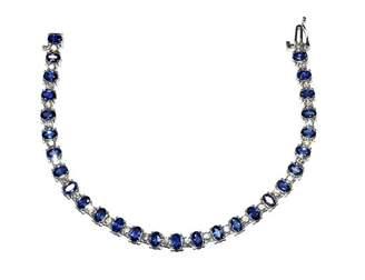 Sapphire & Diamonds Tennis Bracelet 50% DISCOUNT; FINAL SALE