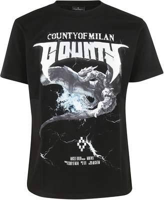 Marcelo Burlon County of Milan Graphic Logo T-shirt