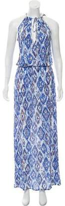 Melissa Odabash Printed Maxi Dress w/ Tags