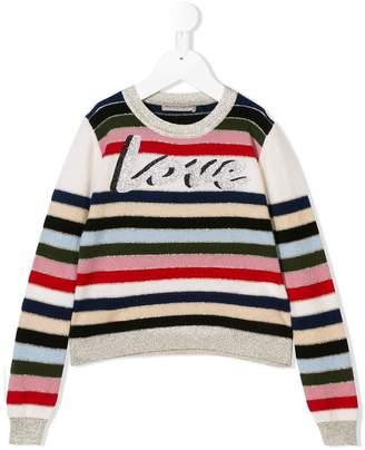 Ermanno Scervino cashmere striped sweater