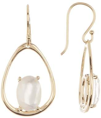 Ippolita 18K Yellow Gold Rock Candy Large Suspension Mother Of Pearl Earrings