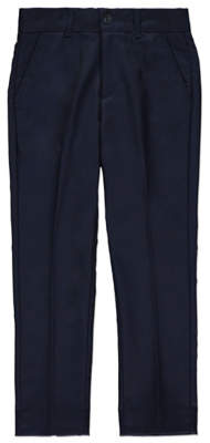 George Navy Suit Trousers