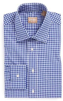 Gitman Regular Fit Cotton Gingham English Spread Collar Dress Shirt