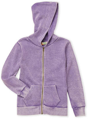 Vintage Havana Girls 7-16) Zip-Up Fleece Hoodie