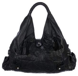 CNC Costume National Patchwork Leather Hobo