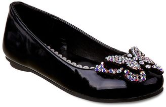 Laura Ashley Girls' Butterfly Ballet Flats $36.99 thestylecure.com