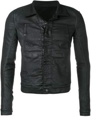 Rick Owens coated denim jacket