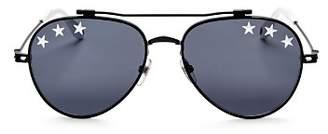 Givenchy Men's Embellished Aviator Sunglasses, 58mm