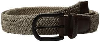 Torino Leather Co. 35mm Italian Braided Melange Rayon Elastic Men's Belts