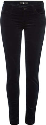 7 For All Mankind The Skinny Velvet Jeans
