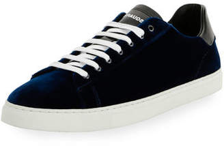 DSQUARED2 Men's Wool-Blend Low-Top Sneakers