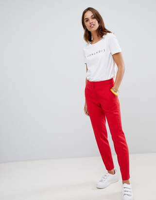French Connection Whisper Ruth tapered tailored pants