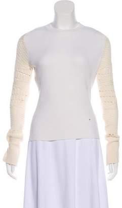 Esteban Cortazar Bateau Neck Long Sleeve Sweater