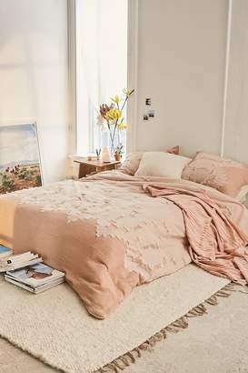 Urban Outfitters Clipper Jacquard Woven Duvet Cover