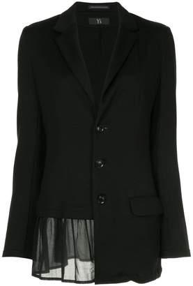 Y's asymmetric blazer