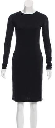 Acne Studios Long Sleeve Bodycon Dress