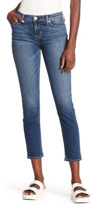 Hudson Tally Mid Rise Cropped Skinny Jeans