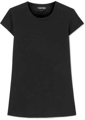 Tom Ford Cotton-jersey T-shirt - Black